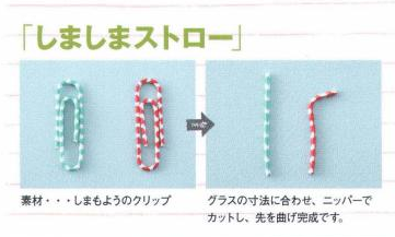 Japanese Decoden Book tutorial how to make a straw