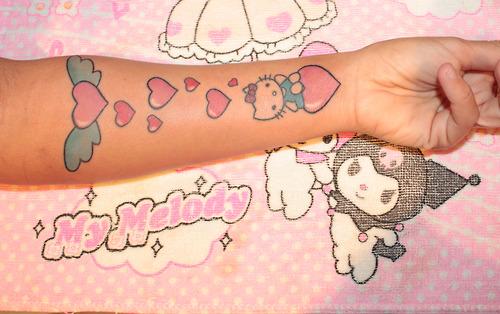 kawaii tattoo my melody