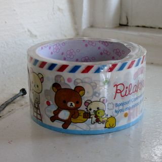 Relax Deco tape bear