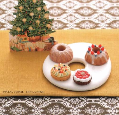 Japanese clay craft DIY miniature fake sweets for dollhouse kawaii