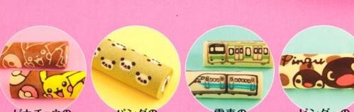 Kawaii swiss roll cake2