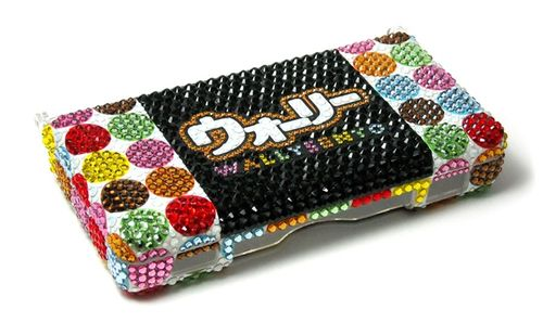 deocden nintendo ds case bling art