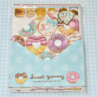 Sweet yummy deco letter set